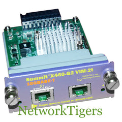 Extreme 16712 X460-G2 Series 2x 10 Gigabit Ethernet RJ-45 Switch Module - NetworkTigers