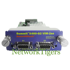 Extreme 16713 X460-G2 Series 2x Summit Stack Switch Module - NetworkTigers