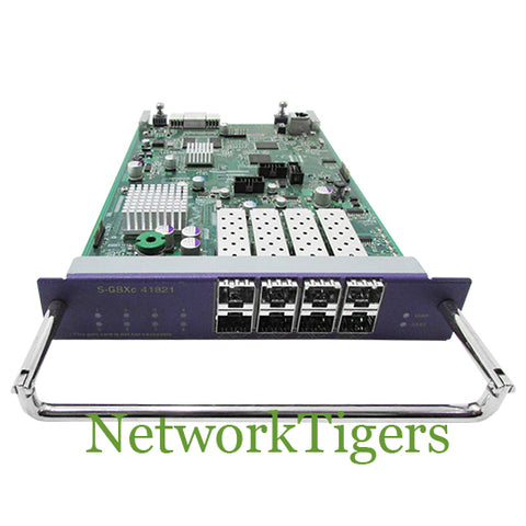 Extreme 41821 BlackDiamond 8800 S-G8Xc 8x Gigabit Ethernet SFP Switch Card