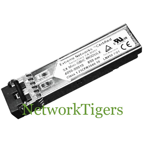 Extreme Networks 10051 Summit X480 Series 1000BASE-SX SFP Transceiver