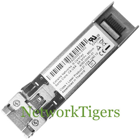 Extreme Networks 10301 10 Gigabit Ethernet BASE-SR Optical SFP+ Transceiver