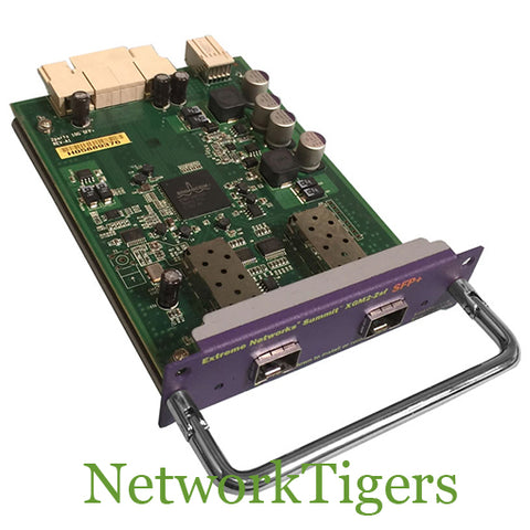 Extreme Networks 16114 XGM2-2sf X450e X450a 2 Port 10GBASE-SR/LR Switch Module