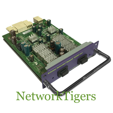 Extreme Networks 16112 XGM2-2xf X450e X450a 2 Port XFP Switch Module