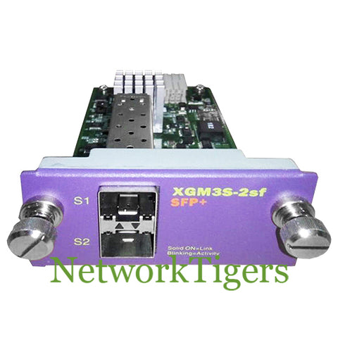 Extreme 16126 X460 Series XGM3S-2sf 2x 10 Gigabit Ethernet SFP+ Switch Module