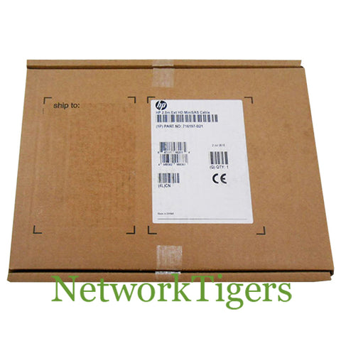NEW HPE 716197-B21 2m External 4x Mini-SAS HD to Mini-SAS HD Cable