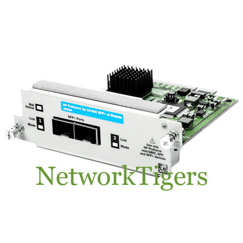HPE J9008A ProCurve 2910al Series 2x 10 Gigabit Ethernet SFP+ Switch Module - NetworkTigers