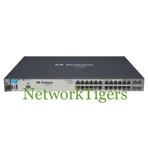 HPE J9146A 2910al Series 24x Gigabit Ethernet PoE 4x 1G Combo Switch - NetworkTigers