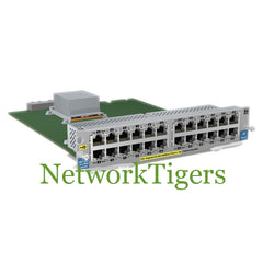 HPE J9534A 5400zl Series 24x Gigabit Ethernet PoE+ RJ-45 Switch Module - NetworkTigers