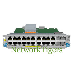 HPE J9535A 5400zl Series 20x Gigabit Ethernet PoE+ 4x 1G SFP Switch Module - NetworkTigers