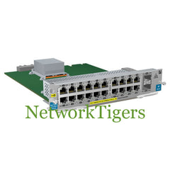 HPE J9536A 5400zl Series 20x Gigabit Ethernet PoE+ 2x 10G SFP+ Switch Module - NetworkTigers