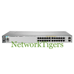 HPE J9573A 3800 Series 24x Gigabit Ethernet PoE+ 2x 10G SFP+ Switch - NetworkTigers