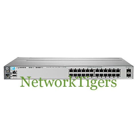 HP J9575A 3800 Series 24-Port Gigabit Ethernet 2-Port SFP+ Switch