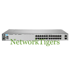 HPE J9575A 3800 Series 24x Gigabit Ethernet 2x 10G SFP+ Switch - NetworkTigers