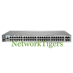HPE J9576A 3800 Series 48x Gigabit Ethernet 4x 10G SFP+ Switch - NetworkTigers