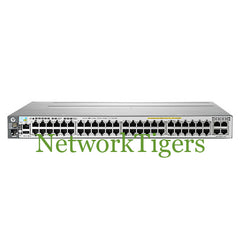 HPE J9588A 3800 Series 48x Gigabit Ethernet PoE+ 4x 10GE Switch - NetworkTigers