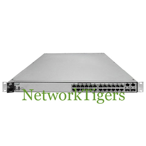 HP J9625A 2620 Series HPE 2620-24-PoE+ 24-Port Fast Ethernet Switch