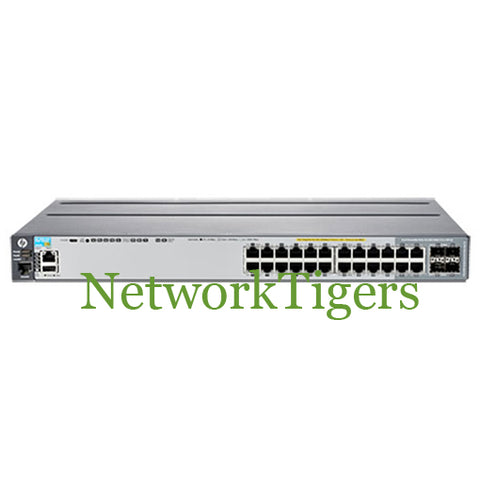 HPE J9727A Aruba 2920 Series 20x Gigabit Ethernet PoE+ 4x 1G Combo Switch - NetworkTigers