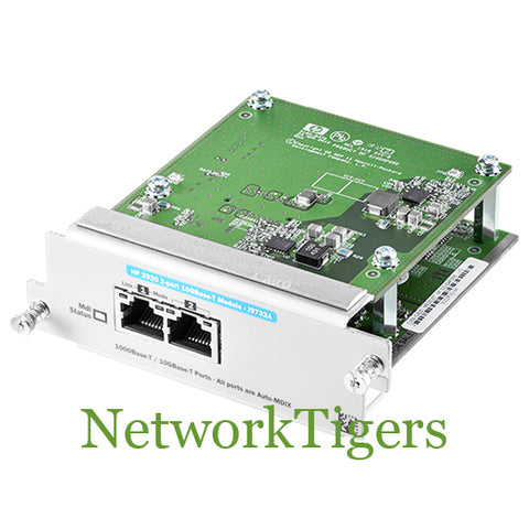 HPE J9732A Aruba 2920 Series 2x 10 Gigabit Ethernet RJ-45 Switch Module - NetworkTigers
