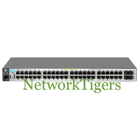 HPE J9772A Aruba 2530 Series 48x Gigabit Ethernet PoE+ 4x 1G SFP Switch - NetworkTigers