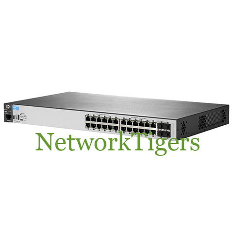 HPE J9773A Aruba 2530 Series 24x Gigabit Ethernet PoE+ 4x 1G SFP Switch - NetworkTigers