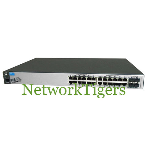 HPE J9776A Aruba 2530 Series 24x Gigabit Ethernet 4x 1G SFP Switch - NetworkTigers