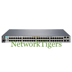 HPE J9778A Aruba 2530 Series 48x Fast Ethernet PoE+ 2x GE 2x 1G SFP Switch - NetworkTigers