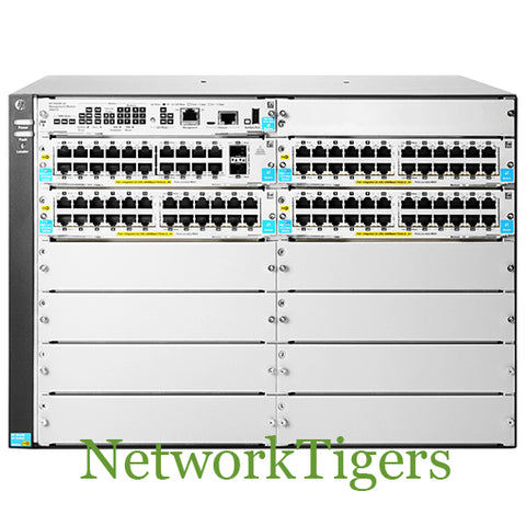 HPE J9825A Aruba 5400R zl2 Series 92x Gigabit Ethernet PoE+ 2x 10G SFP+ Switch - NetworkTigers
