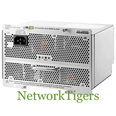 HPE J9829A Aruba 5400R zl2 Series 1100W PoE+ Switch Power Supply - NetworkTigers