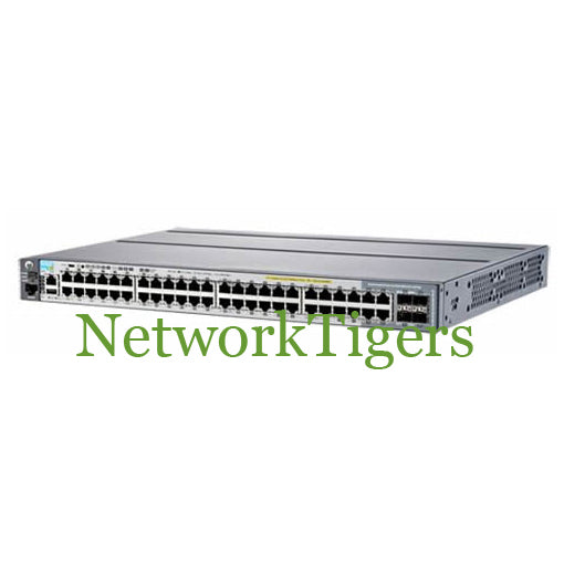 HPE J9836A Aruba 2920 Series 44x Gigabit Ethernet PoE+ 4x 1G Combo Switch - NetworkTigers