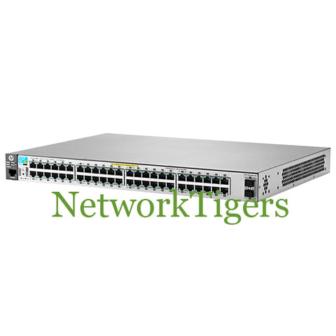 HP J9853A 2530 Series Aruba 2530-48G-PoE+-2SFP+ 48-Port Gigabit Switch