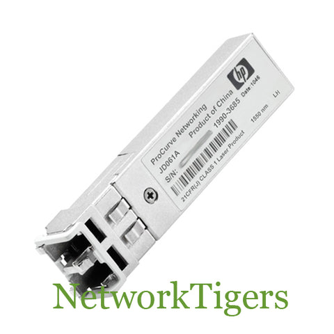 HPE JD061A Optical 1 Gigabit BASE-LH40 LC Transceiver SFP - NetworkTigers
