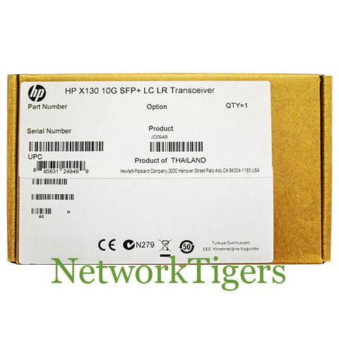 NEW HPE JD094B 10GB BASE-LR LC SMF Optical SFP+ Transceiver