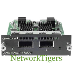 HPE JD359B 5500 EI Series 2x 10 Gigabit Ethernet XFP Switch Module - NetworkTigers