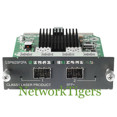 HPE JD368B 5500/5120/5830 Series 2x 10 Gigabit Ethernet SFP+ Switch Module - NetworkTigers