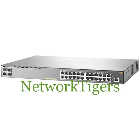 Aruba JL356A 2540 Series 24x Gigabit Ethernet PoE+ 4x 1G SFP+ Switch