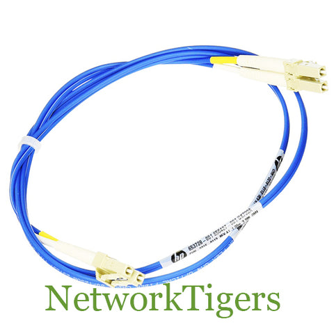 HP QK733A Premier Flex LC/LC Multi-Mode OM4 2 Fiber 2m Cable - NetworkTigers