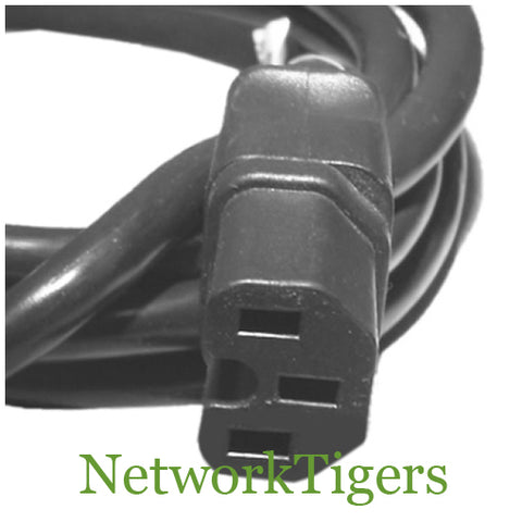 HP 8121-0973 NEMA 5-15P C15 125V 2.5m Notched Power Cord