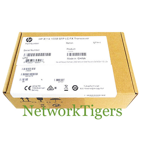 NEW HPE JF833A X114 100M LC FX Transceiver SFP