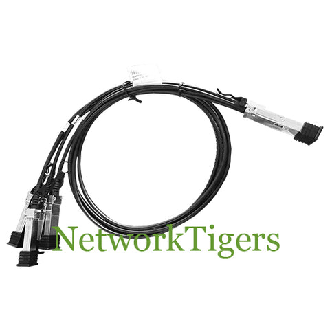 HPE JG329A FlexFabric X240 1m 40G QSFP+ to 4x 10G SFP+ Cable Splitter - NetworkTigers