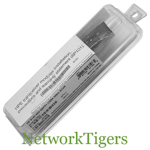 NEW HPE JG709A 40 Gigabit MPO MM 850nm CSR4 300m Optical QSFP+ Transceiver