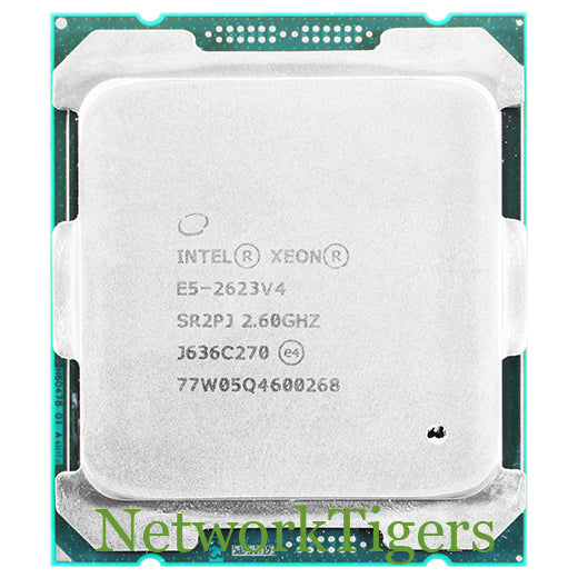Intel E5-2623 v4 Xeon E5 V4 Series 4 Core 2.60 GHz SR2PJ CPU