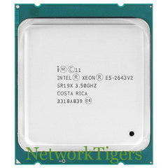 Intel SR19X Xeon E5 V2 Series E5-2643 v2 6 Core 3.50 GHz CPU