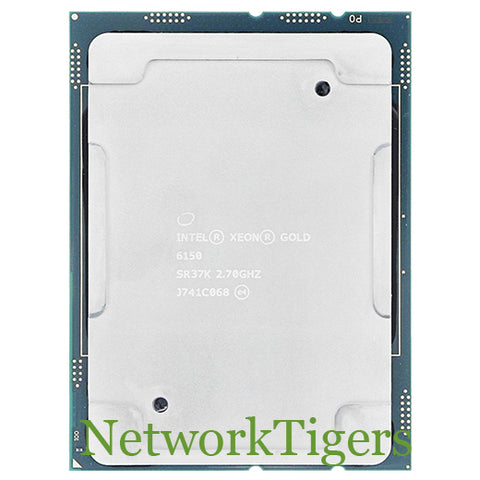 Intel SR37K Xeon Gold 6150 18 Core 2.70 GHz CPU