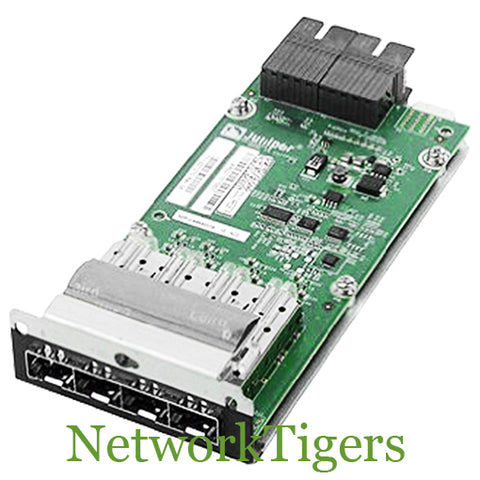 Juniper EX-UM-4X4SFP EX4300 Series 4x 10 Gigabit Ethernet SFP+ Switch Module
