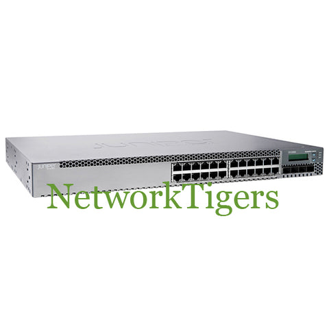 Juniper EX3300-24P EX3300 Series 24x Gigabit Ethernet PoE+ 4x 10G SFP+ Switch
