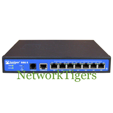 Juniper SSG-5-SB SSG5 7-Port Fast Ethernet 128 MB Secure