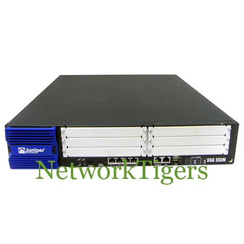 Juniper SSG-550M-SH 500 Series High Memory 4x RJ-45 6x Slots Gateway