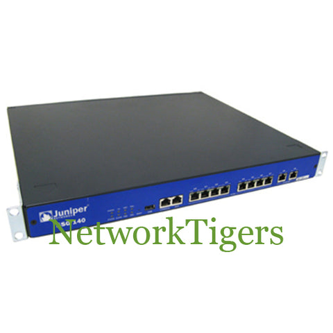Juniper SSG-140-SH SSG140 512MB DRAM 8-Port FE 2-Port GE Secure Services Gateway