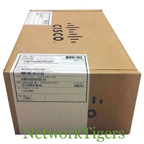 Cisco C3KX-NM-10G Catalyst 3560X Series 2x 10G SFP+ 1G SFP Switch Module
