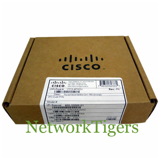 Cisco VIC2-4FXO